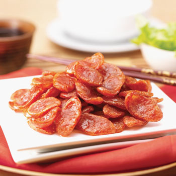 กุนเชียงเชือกแดง Puengngeechiang