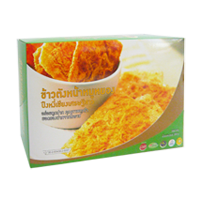 Rice Crust With Flossy Pork Puengngeechiang